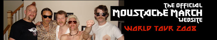 Moustache March Header